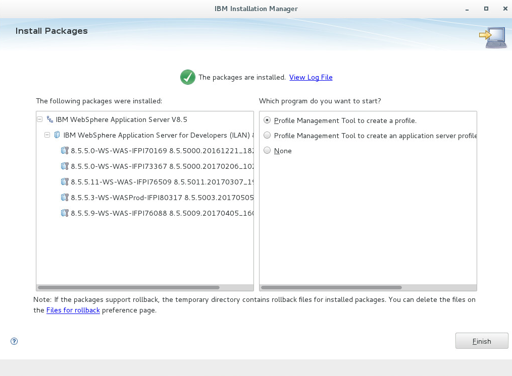 Ibm Installation Manager Linux Gui Command