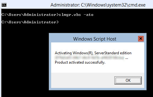 FreeKB - How to activate Windows Server 2012 Server Core evaluation
